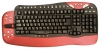Oklick 780L Multimedia Keyboard Red-Black USB + PS/2, Oklick 780L Multimedia Keyboard Red-Black USB + PS/2 recensione, Oklick 780L Multimedia Keyboard Red-Black USB + PS/2 Caratteristiche, specifiche Oklick 780L Multimedia Keyboard Red-Black USB + PS/2, recensione Okl