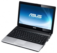 laptop ASUS, notebook ASUS U31JG (Core i5 480M 2660 Mhz/13.3