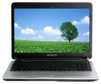 laptop GIGABYTE, notebook GIGABYTE Q1585N (Core i3 350M 2260 Mhz/15.6